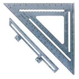 Swanson Tool S0107 12-Inch Speed Square Layout Tool with Blu