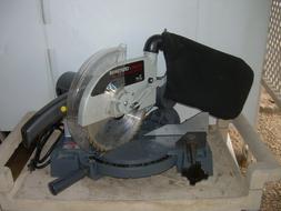 SEARS/CRAFTSMAN 3 HP 10 inch Compound Miter Saw / Accessorie