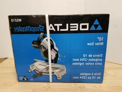 "Delta ShopMaster 10"" Compound Power Miter Saw Model Ms210 NI"
