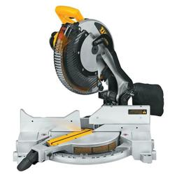 Single-Bevel Compound Miter Saw 15-Amp Corded 12 in. Heavy-D