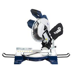 DOIT 15-Amp 10-Inch Single-Bevel Compound Miter Saw with Las