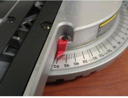 Single Bevel Sliding Laser Compound Miter Saw 7 1/4 Inch 10