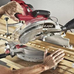 SKIL 12-Inch Quick Mount Compound Miter Saw with Laser, 3821