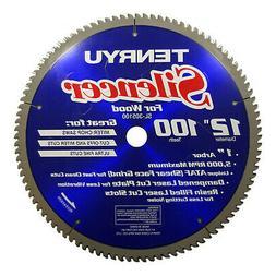 """Tenryu SL-305100 12"""" Silencer Miter Saw Blade 100T 1"""" Arbor"""