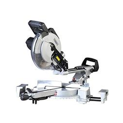 "Ainfox 10"" Sliding Compound Miter Saw, LED Work Light and La"