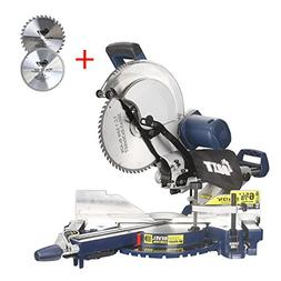 Ainfox 12-Inch Sliding Compound Miter Saw, 15 Amp Dual Bevel
