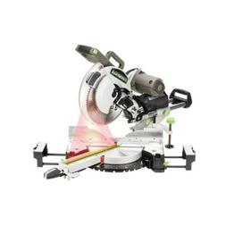 """Sliding Compound Miter Saw 15 Amp 12"""" Dual Bevel Corded Powe"""
