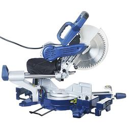 "12"" Sliding Compound Miter Saw Dual Bevel with Laser Marker"