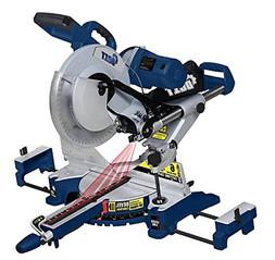 12-Inch Sliding Compound Miter Saw 15 Amp Dual Bevel with La