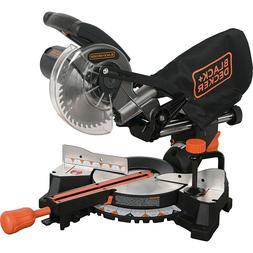Black & Decker SM1850BD 9 Amp 7-1/4 in. Sliding Compound Mit