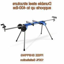 Kobalt Steel Saw Miter Stand Adjustable Telescoping Rolling