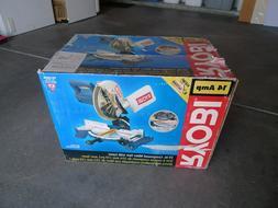 RYOBI TS1342 14 AMP Compound Miter Saw- 10 In. Blade, W/ Las
