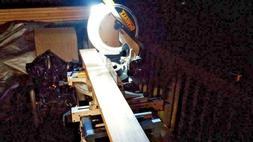 UNIVERSAL MITER SAW LED LIGHT  DEWALT KIT FOR NOT PREWIRED M