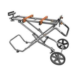 RIDGID AC9946 Universal Mobile Miter Saw Stand with Mounting