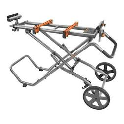 RIDGID Miter Saw Stand Universal Mounting Brackets Wheels Ha
