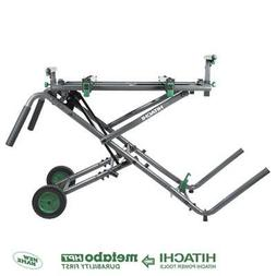 Hitachi UU240R Fold & Roll Portable Miter Saw Stand