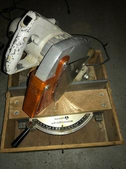 Vintage Rockwell 34-010 Motorized Miter Box Saw with crate i