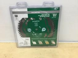 Hitachi Viper 10-in 60-Tooth Miter Saw Wood Cutting Fine Fin