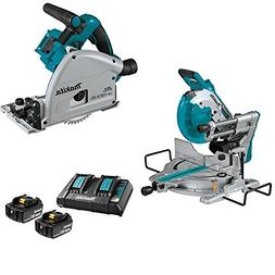 "Makita XSL06Z 18V X2 LXT  Brushless 10"" Dual-Bevel Sliding C"