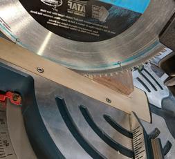 Zero Clearance Throat Plate / Insert for Bosch GCM12SD Miter