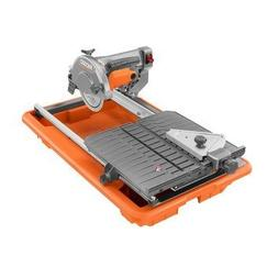 Ridgid ZRR4030 7 in. Job-Site Wet Tile Saw with Laser