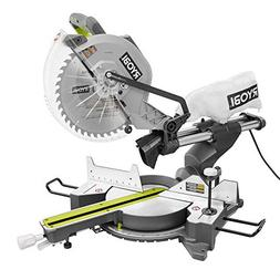 Ryobi ZRTSS120L 15 Amp 12 in. Sliding Compound Miter Saw wit